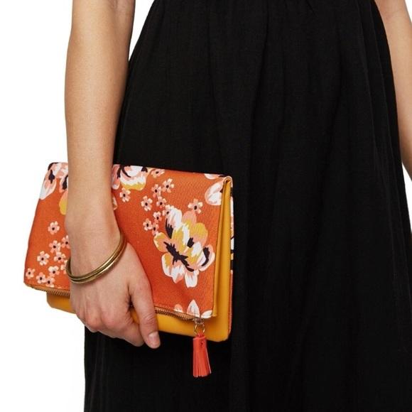 Handbags - BRAND NEW RACHEL PALLY REVERSIBLE CLUTCH & dustbag
